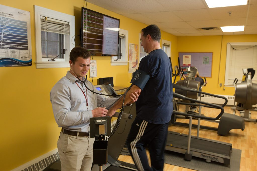 Cardiac Rehab - treadmill